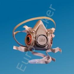 Atemschutz Halbmaske mit Filtern P3