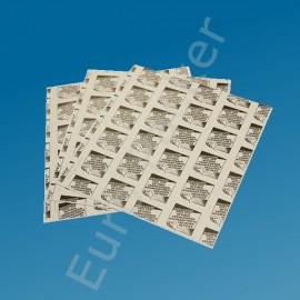 Klebeflächen für SunDew Fly Lite, Sunburst und naturale