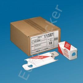 Mäuseköderbox Pappe 25 Stücks